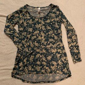 Lularoe Lynnae long sleeve shirt